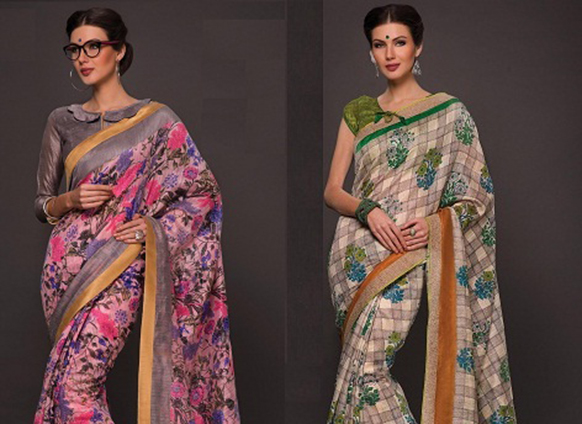 Rock a saree every day